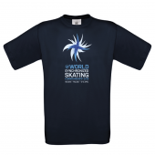 Men's WSSC logo T-shirt /Navy blue