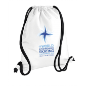 Drawstring backpack WSSC /White